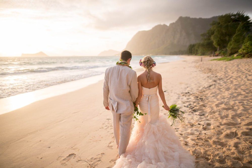 Waimanalo Sunrise Wedding