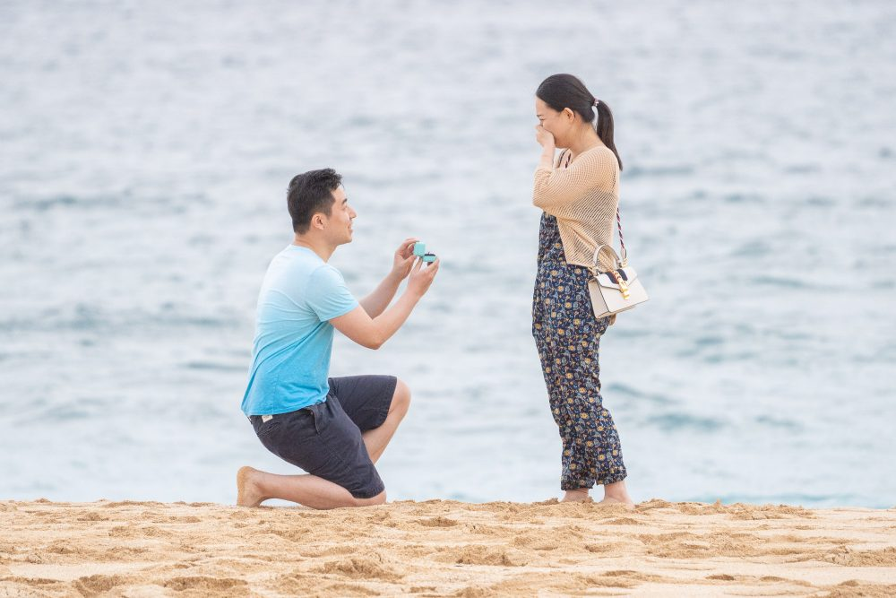 Hawaii Engagement photo shoot