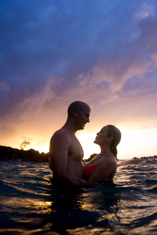underwater photo shoot Hawaii