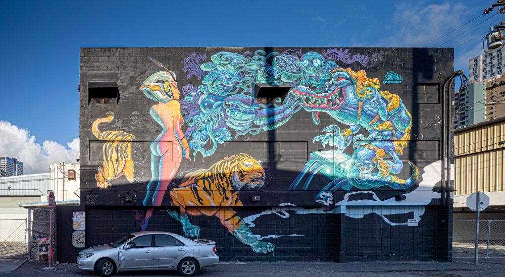 Street art honolulul