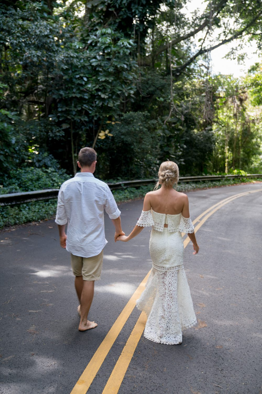 Oahu waterfall session